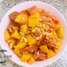 霸王超市丨排骨土豆煲