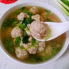 清淡鱼丸汤