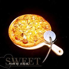 香肠虾仁披萨