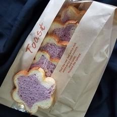 紫薯梅花吐司