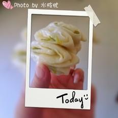 传统香葱花卷
