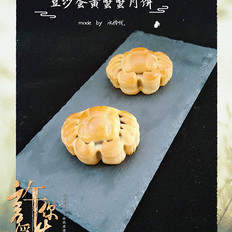 豆沙蛋黄蟹蟹月饼