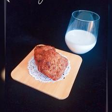 燕麦海苔肉松玛芬