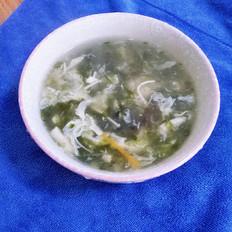 海菜蛋花汤