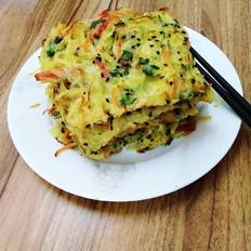 什锦土豆丝饼