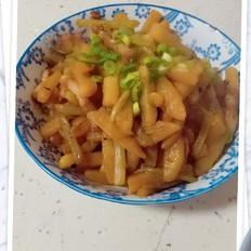 芹菜土豆条