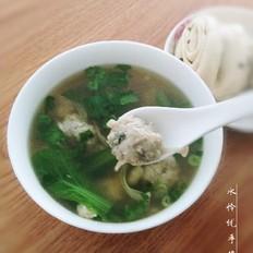 小黄鱼鱼丸汤