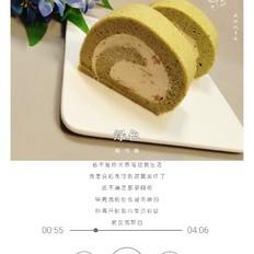 抹茶玫瑰蛋糕卷