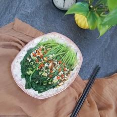 蒜香鸡毛菜