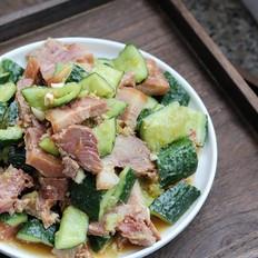 黄瓜拌猪头肉