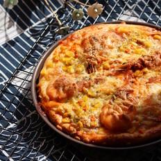 海鲜大虾披萨