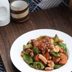 青椒炒海杂拌