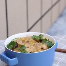娃娃菜炖冻豆腐