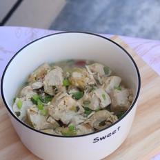 虾皮炖豆腐