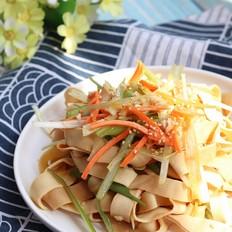 葱油豆腐皮