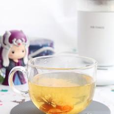 柠檬菊花茶