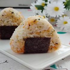 低糖海苔肉松饭团