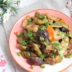 五花肉炖油豆