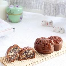 黑糖五仁月饼的详细步骤,内含豪华五仁馅的做法,好吃到停不下来