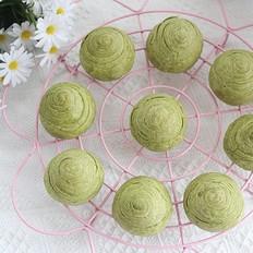 抹茶肉松豆沙酥的超详细做法,中秋超有面儿,高端大气上档次