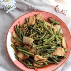 简单又好吃的家常菜,豇豆炒肉的做法,看一眼就会