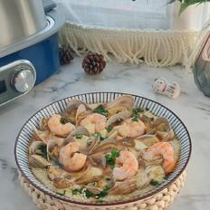 鲜虾蛤蜊蒸水蛋,简单易做鲜味十足