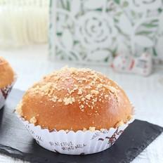 早餐必备:酥粒豆沙小面包,简单易学!松软香甜超好吃