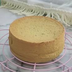 清新的抹茶戚风蛋糕,家常版详细做法