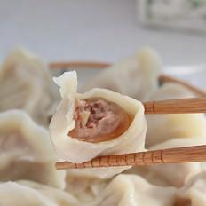 超好吃的牛肉水饺︱咬一口满满的汤汁哟