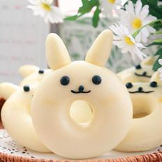 小兔子甜甜圈馒头︱小朋友绝对喜欢哟!
