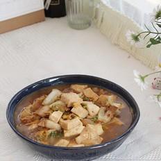 娃娃菜炖豆腐,一道好吃下饭的家常菜