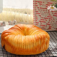 最近爆火的毛线团面包,详细教程一看就会!的做法