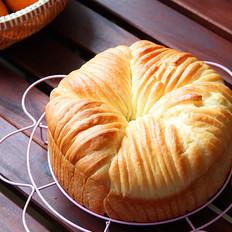 红遍网络的蜜红豆毛线团面包,超级好吃的哟!