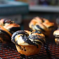 面包控不可错过的一款小面包,香味十足巨好吃!的做法