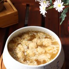 快手营养的清蒸丸子汤,低脂健康又美味!的做法
