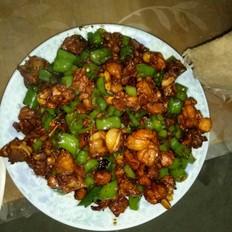杭椒炒鸡块