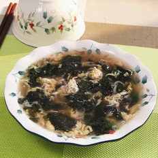 紫菜鸡蛋汤