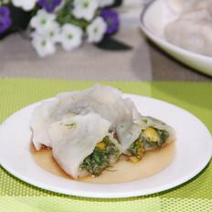 茴香玉米饺子
