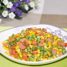 青椒蔬菜小炒