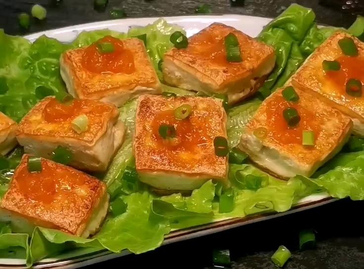 咸蛋黄豆腐