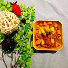 蒸箱版番茄土豆炖牛腩