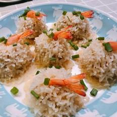X7Z私房菜——珍珠虾丸