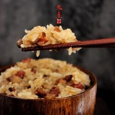 飘香腊味糯米饭