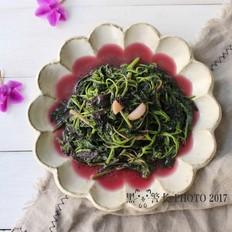 蒜蓉紅莧菜