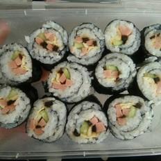 家庭版寿司卷,新手必备
