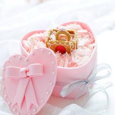 爱的承若:翻糖火龙果慕斯蛋糕