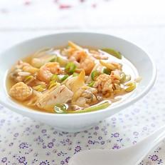韩式海鲜酱汤
