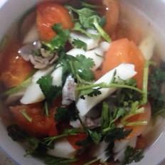 山药牛肉柿子汤