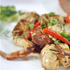 葱蒜面包蟹