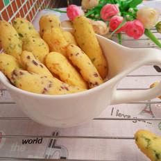 蔬菜手指饼干